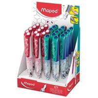 Maped vulpen Classic, display met 24 stuks in geassorteerde kleuren