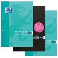 Oxford School cursusblok 2 + 1 pakket, ft A4, 100 vel, geruit 5 mm, display met 162 pakketen