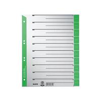 Leitz Subject Divider Green 16520055