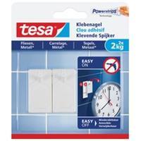 Tesa De  Klevende Spijkers voor Tegels en Metaal