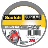 Scotch Supreme reparatietape Universal, ft 48 mm x 10 m, zilver