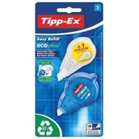 Tipp-Ex correctieroller Easy Refill, blister met 1 stuk en gratis vulling