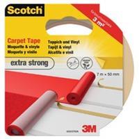 Scotch Dubbelzijdige plakband  tapijt 50mmx7m extra strong