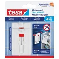 Tesa Verstelbare Klevende Spijkers voor Tegels & Metaal