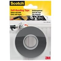 Scotch reparatieplakband anti-lek, ft 25 mm x 3 m, zwart, blisterverpakking