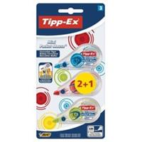 Tipp-Ex correctieroller Mini Pocket Mouse Fashion, blister 2 + 1 gratis