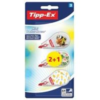 Tipp-Ex correctieroller Mini Pocket Mouse Decor, blister 2 + 1 gratis