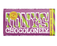 Tony'schocolonely Chocolade  reep 180gr melk coffee crunch