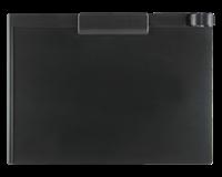 Smitvisual Klembord magnetisch A4 dwars zwart