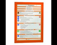 durable Duraframe A4. oranje (pak 2 stuks)