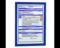 durable Duraframe A4. donkerblauw (pak 2 stuks)