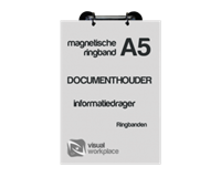 Office Ringmechaniek magnetisch 4-rings A4