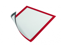 durable Duraframe  486903 magnetisch A4 rood