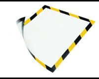durable Duraframe Security A4 magnetisch geel zwart (pak 5 stuks)