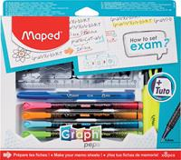 "Maped ""How to exam""-set, 8-delige ophangdoos"