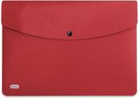 Elba Urban documentenmap, ft A4, uit PP, rood, pak van 5 stuks