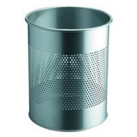 Durable Papierbak  3310-23 15liter 165mm perforatie zilver