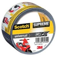 Scotch Supreme reparatietape Universal, ft 48 mm x 10 m, zwart