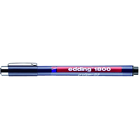 edding Fineliner  1800 zwart 0.35mm
