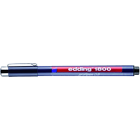 edding Fineliner  1800 zwart 0.5mm
