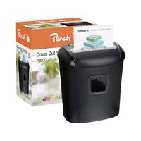 Papierversnipperaar Peach PS500-40 Cross cut 5 x 16 mm 21 l Aantal bladen (max.): 10 Veiligheidsniveau 4 Ook geschikt voor Nietjes