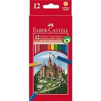 Faber-castell Kleurpotloden  set à 12 stuks assorti