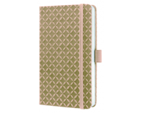 sigel SI-JN114 Notitieboek Jolie Flair A6 Hardcover Gelinieerd Beige