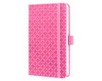 sigel SI-JN116 Notitieboek Jolie Flair A6 Hardcover Gelinieerd Rose
