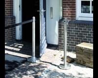 Securit Asbak staand  RVS Pole