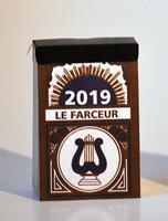"Dagblokkalender ""Le Farceur"", 2020"