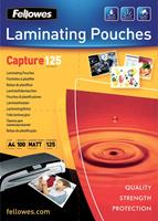 Fellowes lamineerhoes Capture125 ft A4, 250 micron (2 x 125 micron), pak van 100 stuks, mat