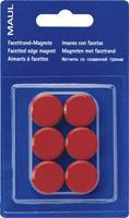 Maul MAULpro (Ã x h) 20 mm x 8 mm rond Rood 6 stuks 6176225