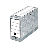 Bankers Box 1080501 Archivschachtel System Grijs, Wit Binnenafmetingen (bxhxd)100 x 260 x 315 mm 1 stuks