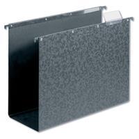 elba Hangmap verticaal Vertic hardboard A4. 80 mm bodem. zwart (doos 10 stuks)