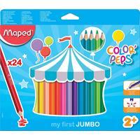 Maped kleurpotlood Early Age, doos van 24 stuks in geassorteerde kleuren