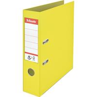 Esselte ordner Colour'Ice No. 1 A4, uit PP, rug van 7,5 cm, geel