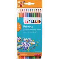 Lakeland aquarelpotlood, pak van 12 stuks in geassorteerde kleuren