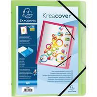 Exacompta sorteermap Kreacover, met 3 kleppen en 8 vakken, geassorteerde kleuren