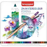 Kleurpotloden  aquarel Expression blik à 24 stuks assorti