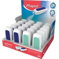 Maped gum Technic Ultra Protection, display van 20 stuks in geassorteerde kleuren