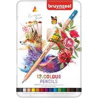 Kleurpotloden  Expression colour blik à 12 stuks assorti