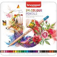 Kleurpotloden  Expression colour blik à 24 stuks