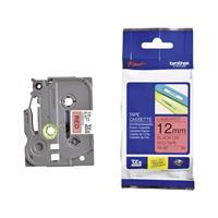 Huismerk Brother TZe-431 Tape Zwart op Rood 12mm