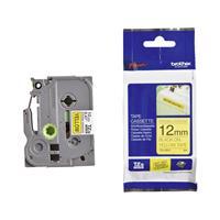 Brother TZe-S631 extra klevend tape zwart op geel 12mm x 8m (origineel)