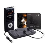 Digitaal dicteerapparaat Olympus DS-2600 Opnameduur (max.) 56 h Zwart incl. 2 GB SD-kaart, incl. spraakherkenningssoftware, incl. tas, incl. voetschakelaar