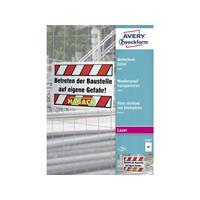 Avery Zweckform Avery-Zweckform 3487 Wit DIN A4