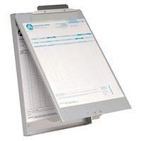 "AC-E17003 Klembord Met Opbergvak Aluminium A4 (9""""x 12"""") Open"