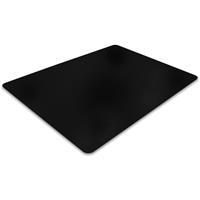 Vloerbeschermer PVC - Zwart - Harde vloer - 90x120cm