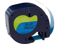 Labeltape G&G LT Polyester Tapekleur: Blauw Tekstkleur: Zwart 12 mm 4 m