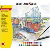Eberhard Faber 24 Aquarelpotloden  in bliketui